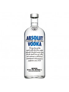 ABSOLUT BLUE 100cl