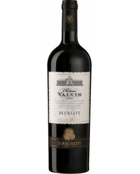 Chateau Valvis Merlot Private Reserve 2012 | Domeniile Samburesti | Samburesti