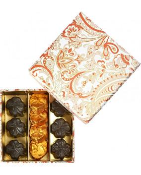 Nomad Square Box 135 gr   Cutie cu Ciocolata Belgiana Valentino