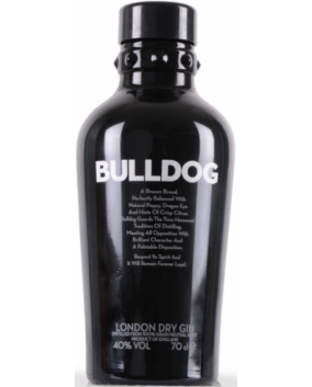 BULLDOG LONDON DRY GIN 70 CL