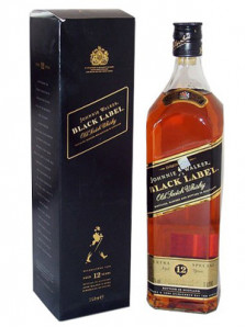 JOHNNIE WALKER BLACK 12 YO 70 cl