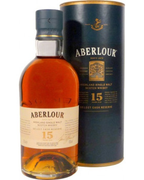 Aberlour 15 YO Select Cask Reserve | Highland Single Malt Scotch Whisky | 70 cl, 43%