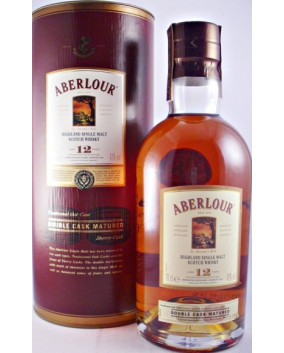 Aberlour 12 YO Double Cask Matured | Highland Single Malt | Scotia | 70cl, 40%