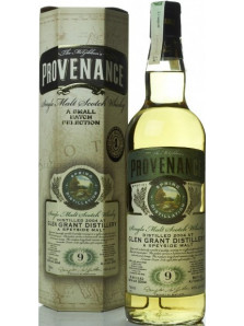 GLEN GRANT 9 YO PROVENANCE 2004 70 CL