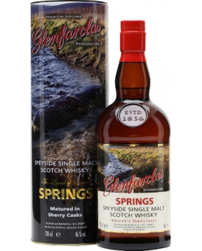 GLENFARCLAS LEGEND OF SPEYSIDE-SPRINGS 70 CL