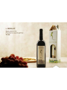 Lacerta Merlot 2013 cutie | Lacerta Winery | Dealu Mare