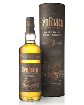 BenRiach 10 YO | Speyside Single Malt | Scotch Whisky | 70 cl, 43%