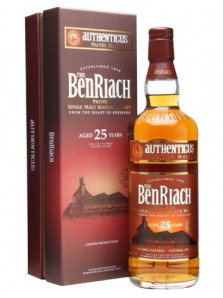 BenRiach 25 yo | Authenticus | 70 cl