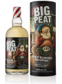 Big Peat Christmas 70 cl | Pahare cristal Glencairn 2 x 175 ml | Cadou Whisky & Accesorii