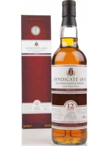 SYNDICATE 58/ 6 BLENDED SCOTCH WHISKY 12 YO | 70 cl, 40%