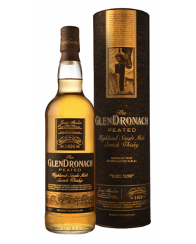 GlenDronach Peated | Highland Single Malt | Scotch Whisky | 70 cl, 46%