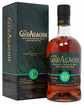 Glenallachie 10 yo Cask Strength Batch 3 | Speyside Single Malt Whisky | 70 cl, 58.2 %