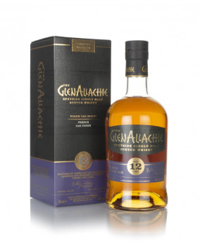 Glenallachie French Oak Finish 12 yo   Speyside Single Malt Scotch Whisky   70 cl, 48 %