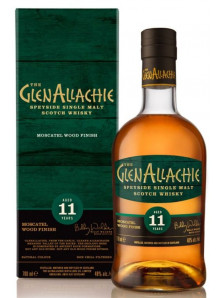 Glenallachie 11 yo Moscatel Wood Finish | Speyside Single Malt Scotch Whisky | 70 cl, 48 %