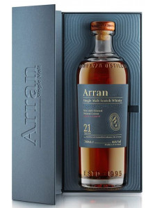 Arran 21 yo | Highland Single Malt Scotch Whisky | 70 cl
