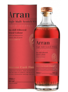 Arran Amarone Cask Finish | Highland Single Malt Scotch Whisky | 70 cl