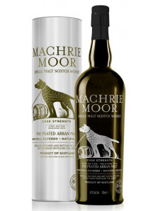 Arran Machrie Moor Peated Cask Strength Single Malt | Highland Scotch Whisky | 70 cl, 56,2%