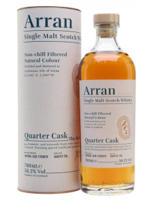 Arran Quarter Cask | Highland Single Malt Scotch Whisky | 70 cl | 56,2%