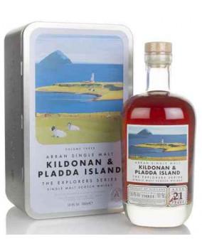 Arran 21 yo Kildonan and Pladda Island | Highland Single Malt Scorch Whisky | 70 cl, 50.4 %