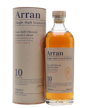 Arran 10 yo | Highland Single Malt Scotch Whisky | 70 cl, 46%