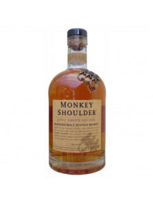 Monkey Shoulder Blended Malt Scotch Whisky | 70 cl, 40%